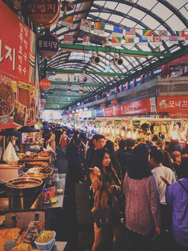 The Gwangjang Street Food Market