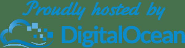hosted by DigitalOcean