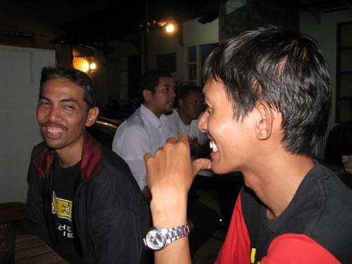 Kang Hedi bersama Edy