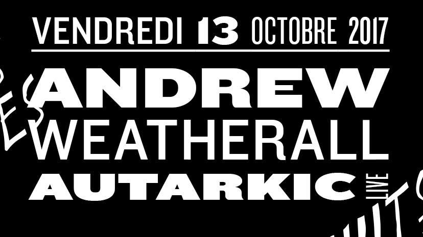 Jeux concours - Soirée Andrew Weatherall and co le 13 octobre aux Nuits Fauves