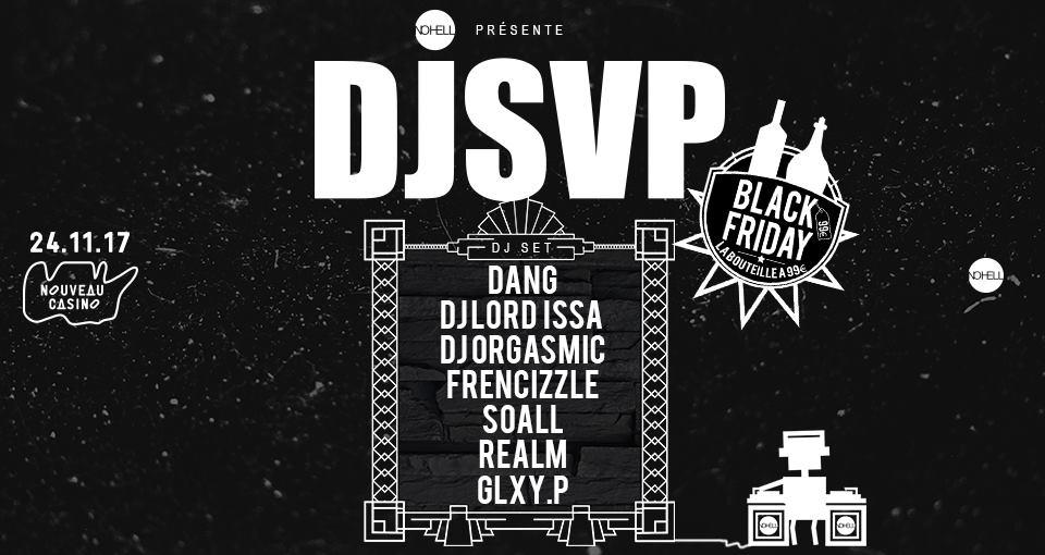 Jeux concours - Soirée DJSVP : Dang & Friends le 24 novembre au Nouveau Casino