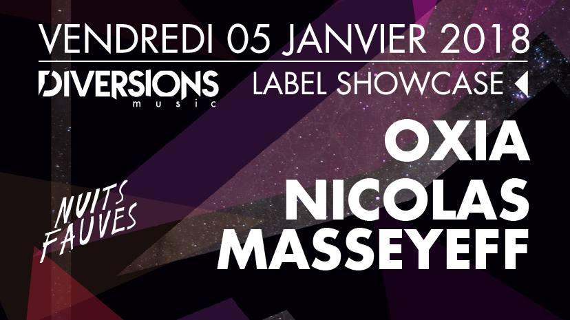 Jeux concours - Soirée Oxia & Nicolas Masseyeff le 5 janvier
