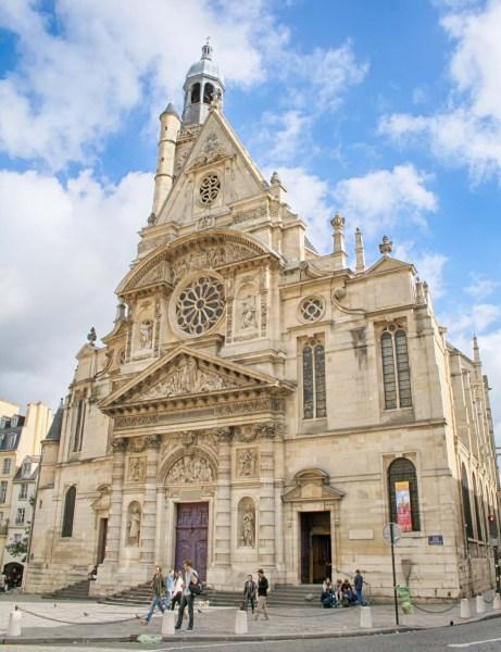 Église Saint-Étienne-du-Mont de Paris