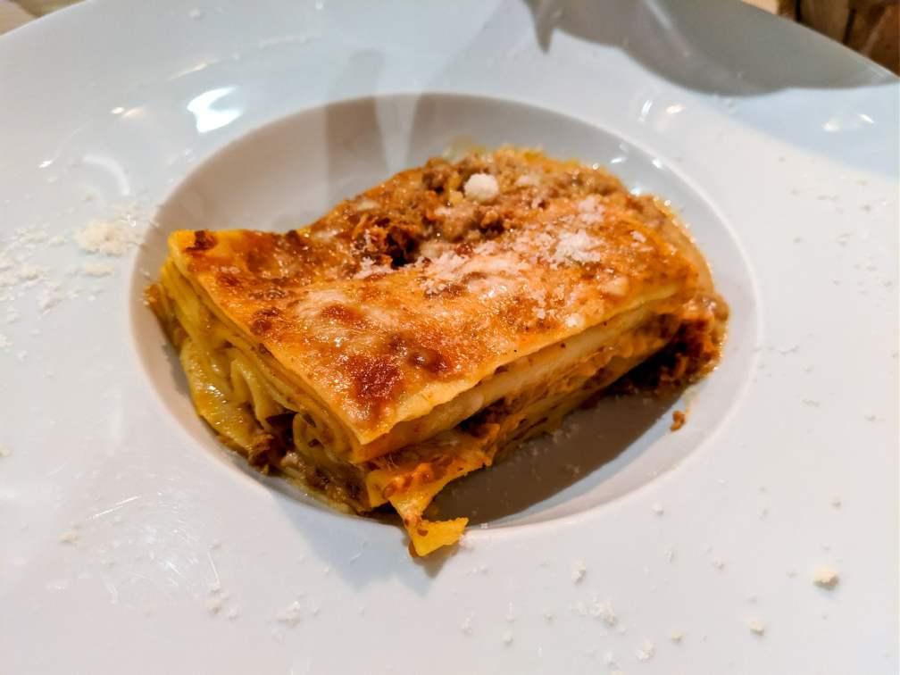 Ristorante Il Granaio Firenze lasagne
