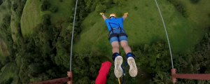 Bungee Jumping in Costa Rica: Monteverde Extremo Park