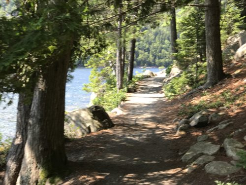 Hiking Jordan Pond Acadia National Park