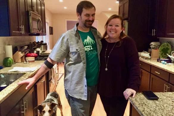 John and Sonya Christmas
