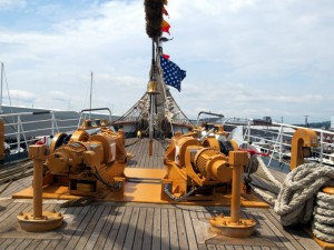 Foredeck of the Eagle