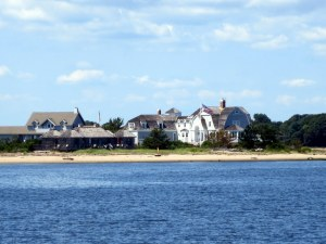 Houses at Entrance to Old Saybrook Harbor