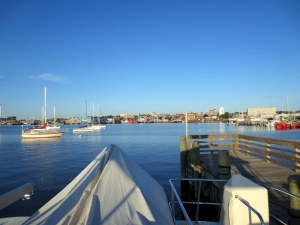 New Bedford Harbor - Glassy Water