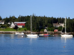 Port Clyde Harbor without Fog