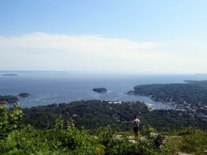View from Mount Battie