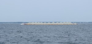 Large Gravel Barge in the Chesapeake