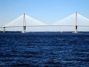 Ravenel Bridge Across the Cooper River