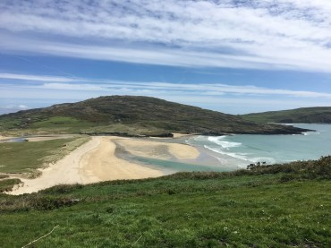 Barley Cove beach created by tsunami of 1755