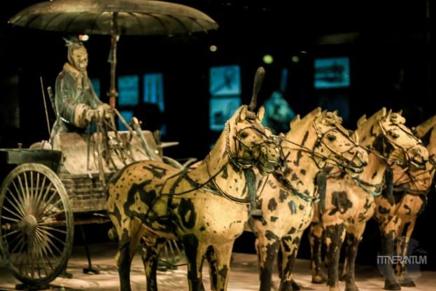 Bronze Horses and Chariot in Xian