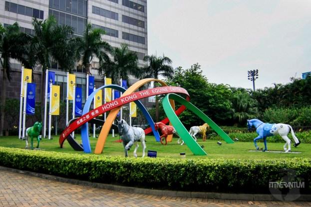 Hong Kong racetrack