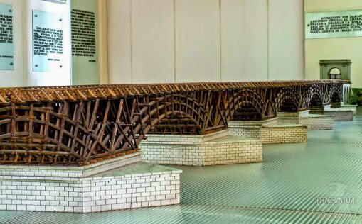 Trajan's bridge replica