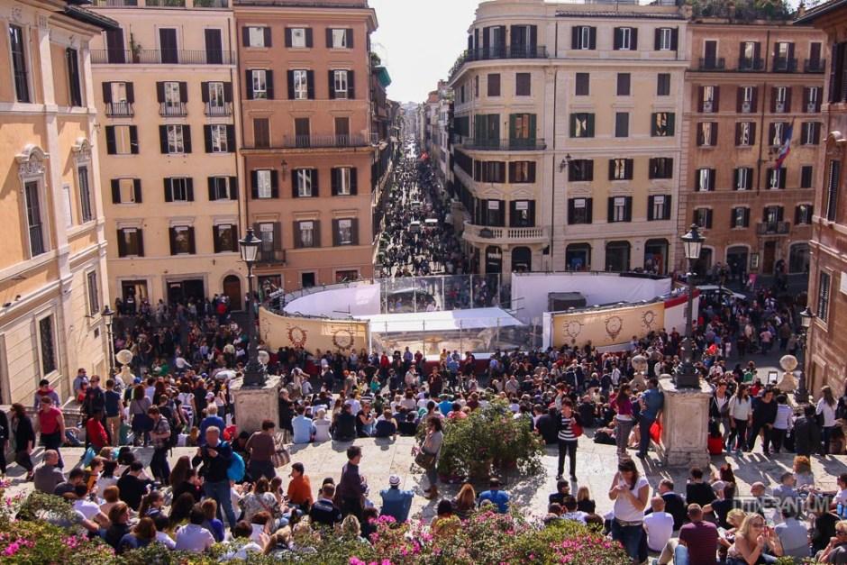 Spanish Steps Via Condotti Rome