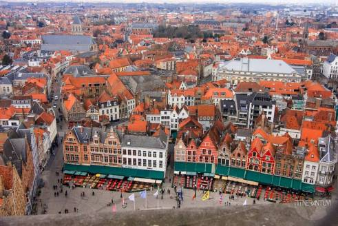Panoramic view from Belfry