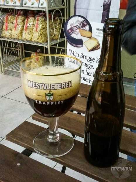 Westvleteren trappist beer bottle
