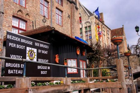 Bout tour departure point bruges