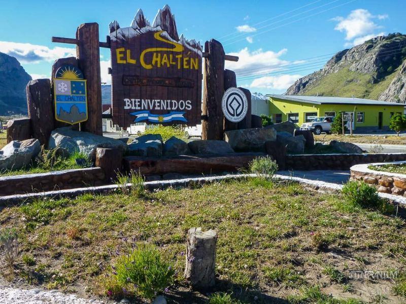 El Chalten welcome board