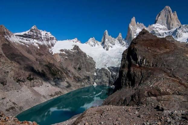 el chalten best hikes, Fitz Roy - Laguna de Los Tres