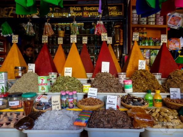 marrakesh souk, morocco itinerary