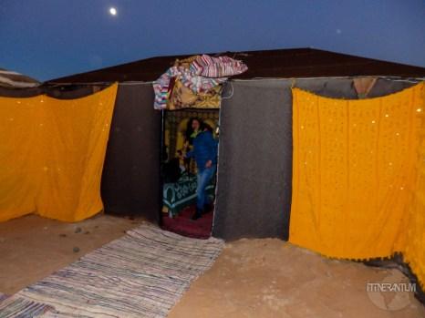 sahara desert tent, morocco itinerary