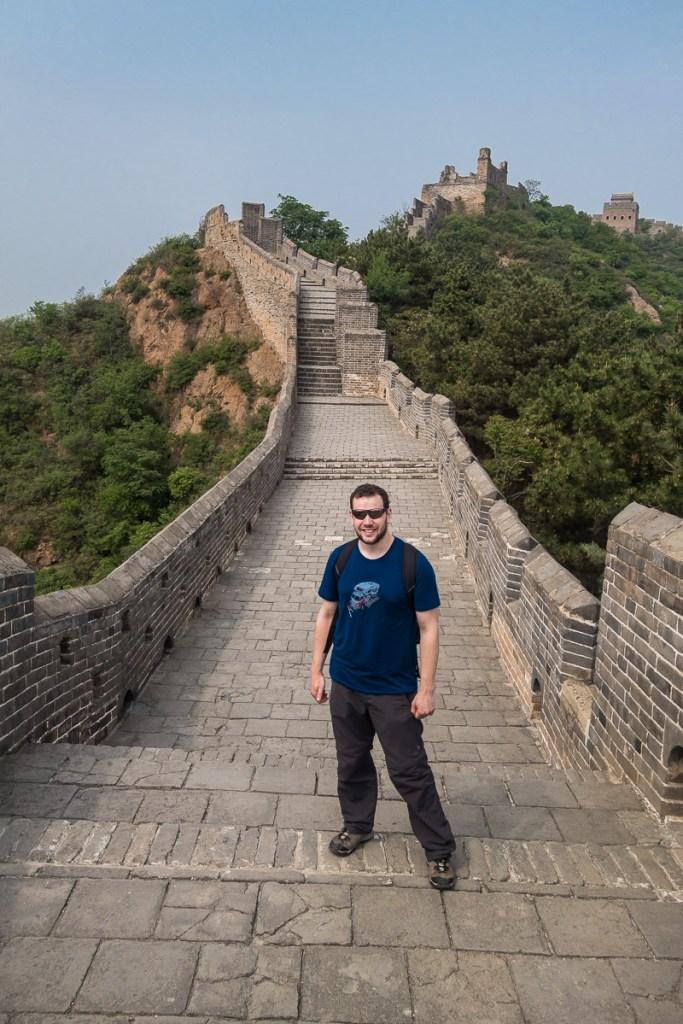 Die grosse Chinesische Mauer - ich war also wirklich da!