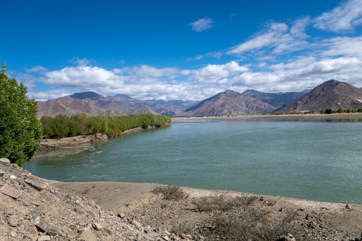 Yarlung Tsangpo Fluss