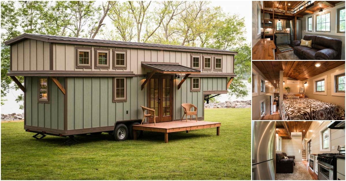 The Timbercraft Retreat Is A Stunning Luxury Tiny House