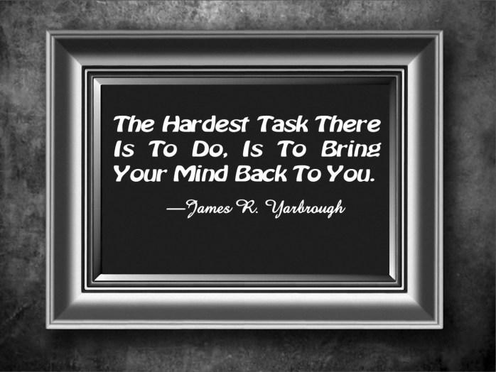 Bring Your Mind Back 8-10-15