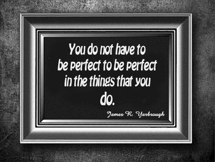 Remove the hurt and pain you can do perfect things.