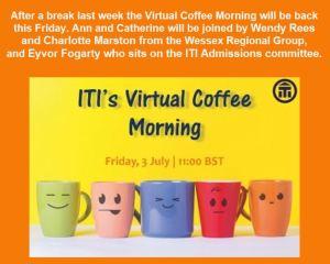 ITI Virtual Coffee Morning @ Webinar