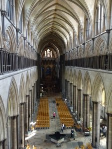 Tour of Salisbury Cathedral via Zoom