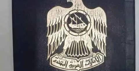 UAE visa status with passport number