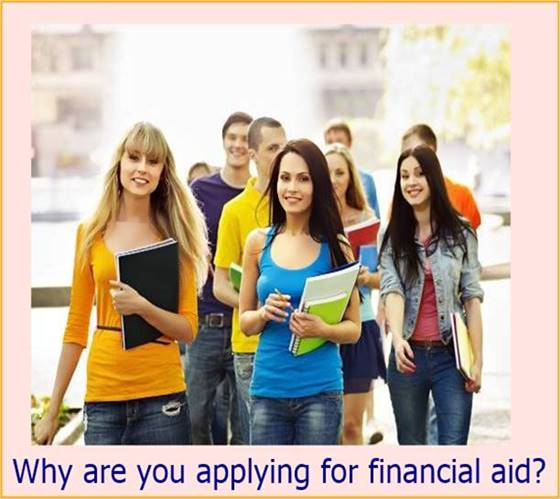Why are you applying for financial aid