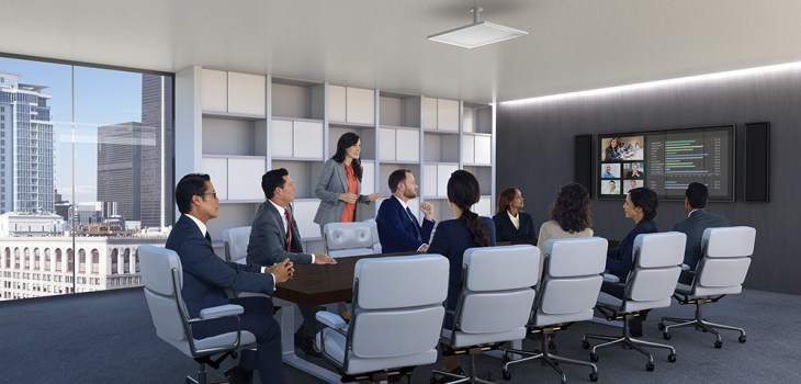 Conferencing – Audio/Visual solutions provided by iTkey