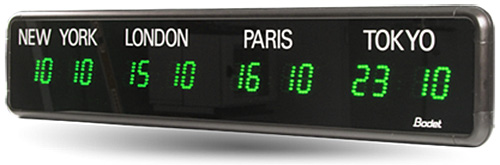 Bodet Time-Zone clock product image