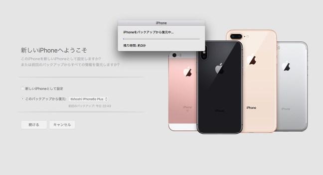171103 iphone8 itunes setting 05