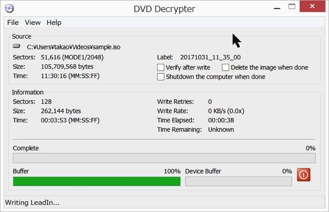 Img DVD Decrypter dvd copy 10
