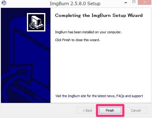 Img imgburn install 10