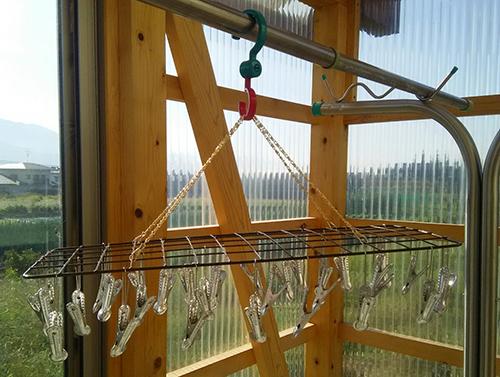 靴下用金属の洗濯ハンガー完成