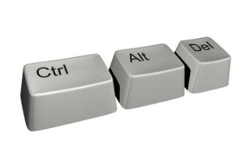 Ctrl + Alt + Del重新启动