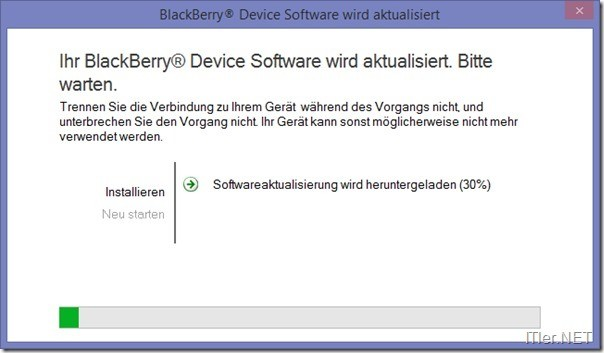 Blackberry-JVM Error 545- Fehler (5)