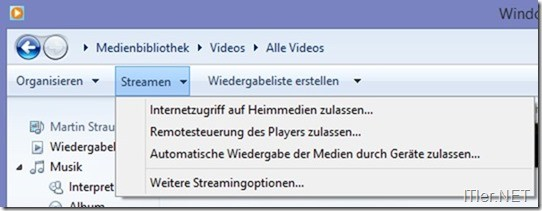 Streaming-Einstellungen