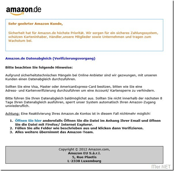 Amazon-Fake-Mail