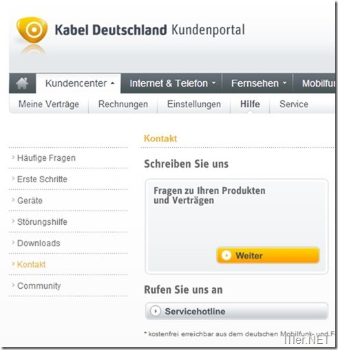 kabel deutschland sicherheitspaket kndigen 1 - Muster Kundigung Vodafone